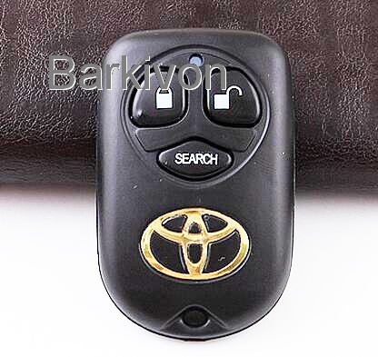 3 Button remote car key shell for Toyota