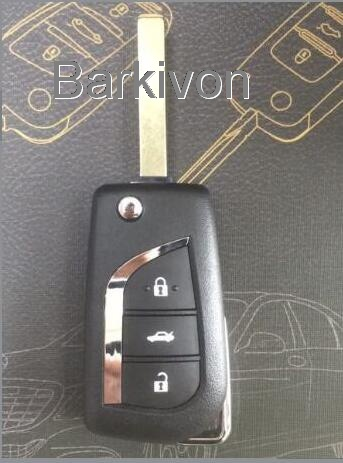 3 button new key shell for Toyota