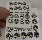 10mm 12mm 14mm silicone VW key logo
