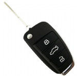 3 Button car key shell for Audi 100