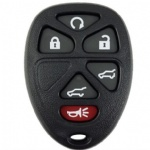 6 Button Transmitter fob Remote Key Case shell for Chevrolet Suburban Tahoe for GMC Yukon XL for Cadillac Escalade key